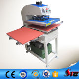 CER Approved 40X40cm Oil Hydraulic Double Station T Shirt Heat Press