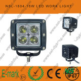 3inch Square 16W CREE LED Work Light Conduite automatique hors route Phare antibrouillard 12 / 24V DC