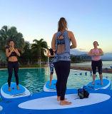 Panneau comique gonflable de yoga de panneau de supp de panneau de palette de vente chaude