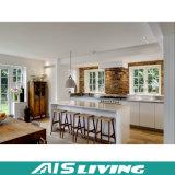 Mobília do armário da cozinha da laca do estilo de país (AIS-K216)