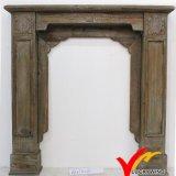 Mantel en bois décoratif de cheminée de cru européen