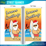 Decorazione di natale di festival che fa pubblicità alle bandierine poco costose del regalo (J-NF02F06027)