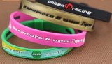 2016 Wristbands quentes da borracha de silicone da forma do bracelete do Sell