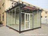 Casa móvil prefabricada/prefabricada del bajo costo de Peison de protector