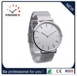 Dw様式の方法ステンレス鋼のカップルの水晶腕時計