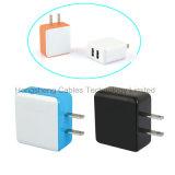 Cargador dual de la pared del recorrido del USB de la potencia de la batería de la batería portable universal del teléfono móvil para iPhone/iPad/Andriod