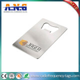 Elegante impermeável do cartão durável do metal impresso
