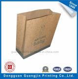 Выполненная на заказ хозяйственная сумка бумаги Brown Kraft без ручки