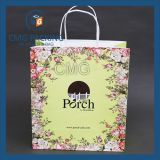 Blume Printed Paper Bag für Cosmetic (CMG-MAY-045)