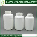 бутылка пластмассы микстуры PE круглой формы 250ml