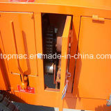 10-14m3/H Productivity、Topmac Brand Supplierの350L Diesel Hydraulic Concrete Mixer