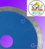 A circular segmentada do diamante viu as lâminas para o vidro cristalizado cerâmico