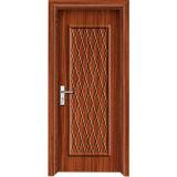 Porta do banheiro do PVC para você HOME nova