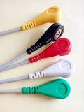 Câble créateur du plastique 6pin 5 ECG de Snap&Clip