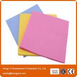 Высокое качество и Absorbent Nonwoven ткань чистки ткани, вискоза и ткань полиэфира
