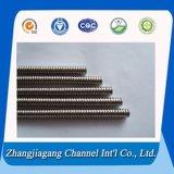 Пробки Corrugated/ребра сваренные нержавеющей сталью для теплообменного аппарата