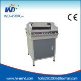 Machine de découpage professionnelle de papier de constructeur (WD-450VG+)