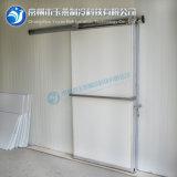 Portello scorrevole manuale con la finestra di vetro