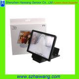 新製品の大きい携帯電話3Dスクリーンの拡大鏡、携帯電話のための拡大されたスクリーン