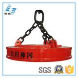 Sucatas do aço do diâmetro 1000mm que levantam o ímã para o guindaste aéreo