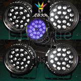 DJ de la luz 18X12W RGBW LED PAR puede acercar etapa de la luz