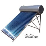 Chaufferette d'eau chaude solaire pressurisée par contrat de caloduc