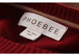 Phoebee 뜨개질을 하거나 온라인으로 뜨개질을 한 모직 형식 아이 옷 판매