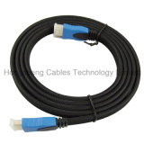 2016 venta caliente cable HDMI plana con Ethernet