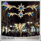800cm Weihnachtsstraßen-dekoratives 2D Motiv-Licht