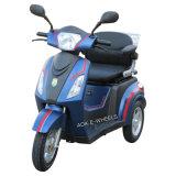 500W48V 3 de Elektrische Gehandicapte Autoped Trike, Volwassen Elektrische Driewieler van het Wiel met LuxeZadel (tc-018)