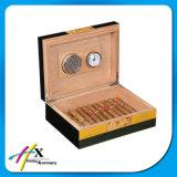 Функциональная коробка Humidor сигары испанского кедра с замком металла