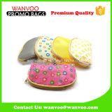 Kundenspezifischer bunter Beutel der Dame-Wallet Hand Crochet Cosmetic
