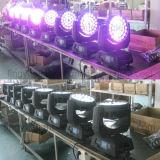 RGBWのズームレンズ36X10W LEDの移動ヘッドビームDJの照明