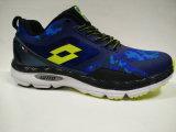 Chaussures de course antimicrobiennes de l'impression colorée des jeunes hommes