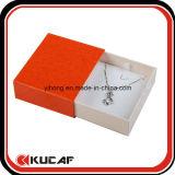 Таможня делает изготовление Кита коробки бумажных ювелирных изделий упаковывая