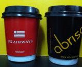 doppel-wandige Papier10oz kaffeetasse