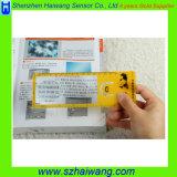 De promotie Adreskaartjes van het Vergrootglas/Plastic pvc Magnifier van Referenties (hw-802A)