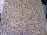 Azulejo amarillento oxidado natural del granito de la piedra G682