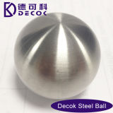 StainlessブラシをかけられたSteel Sphere 15cmの庭Ornament Gazing Ball Outdoor Round