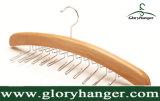 De houten Hanger van de Band met de 24 Gevouwen Haak van het Metaal