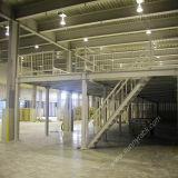 Suelo de entresuelo de acero del cargamento pesado del almacenaje del almacén de Q235B