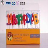 De directe Verkopende In het groot Uitstekende Kleurrijke Kaars van het Aantal van de Verjaardag