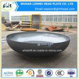 大口径の楕円形のヘッド炭素鋼の皿に盛られた端