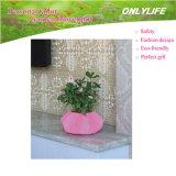 Potenciômetro de flor reusável da tela de feltro do jardim Oh-Lw-006