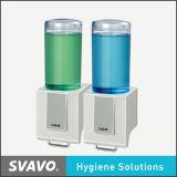 Распределитель мыла прозрачной Двойн-Камеры ручной (VX686-2)