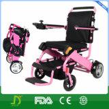 Облегченные легкие носят автоматическую складную электрическую кресло-коляску