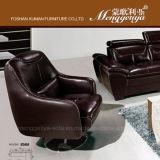 Le premier cuir de graines tournent le sofa (856)