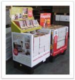 Hotsale imprimió la caja de presentación promocional del contador de la plataforma de la cartulina