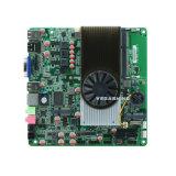 COM industrielle mince superbe de la carte mère encastrée par Itx 2 de CPU dual core de DMA N550 mini