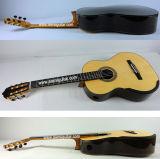 Aiersi klassische Smallman Gitarre mit angehobenem Fretboard und einzelnem Kanal Sc-098SPF